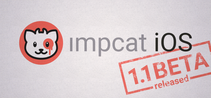impcat iOS 1.1 BETA
